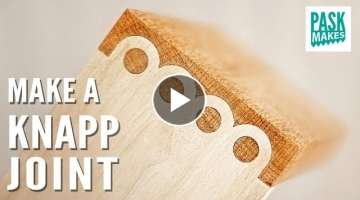 How to make these Alternative Dovetail Joints (The Knapp Joint)