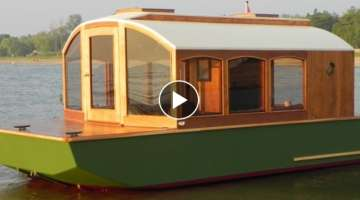 How To Build A Cheap Houseboat