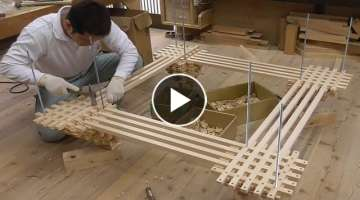 #Amazing Techniques Carpenters Japanese Architectural Skills working professionally - Woodworking