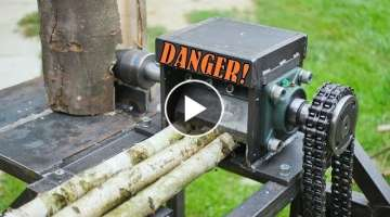 Wood chipper & Log splitter - BUILD