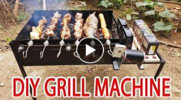 Build Grill Machine, BBQ Grill At Home