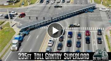 Toll Gantry Superload - Buchanan Hauling & Rigging