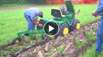 Custom John Deere Garden Tractor at Little G
