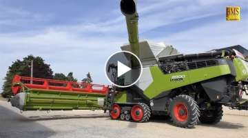 The new CLAAS LEXION combine generation 2020 - series 8000/7000/6000/5000 new combine harvester