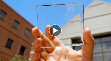 Transparent Solar Panels Will Turn Every Window Into a Power Source