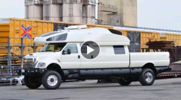 The $6 Million Dollar Ford F-750 World Cruiser Pickup Truck
