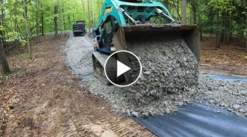 Installing a new driveway