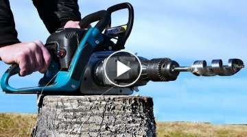 Chain Saw HACK 7 - Drill Attachment