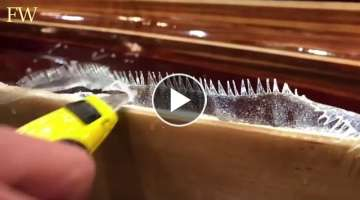 Incredible World WoodWorking DIY Projects and Ideas Handmade Canoes