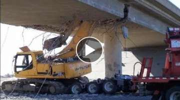 World's Fast Dangerous IDIOTS Excavator Fails Skill Operator | Extreme Heavy Equipment Working Fa...