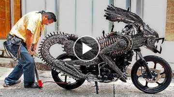 10 WEIRDEST MOTORCYCLES IN THE WORLD