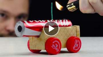 How to Make Powerful Cannon from Coca Cola