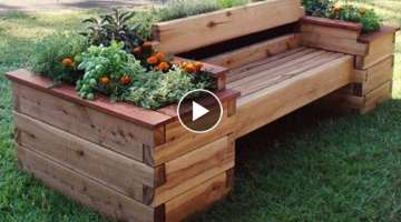 Learn How to Build a Raised Bed with Benches