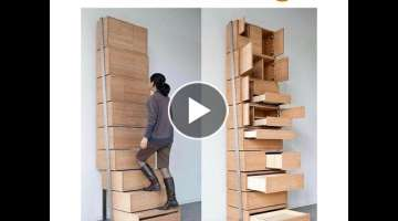 GREAT SPACE SAVING IDEAS SMART FURNITURE 2018
