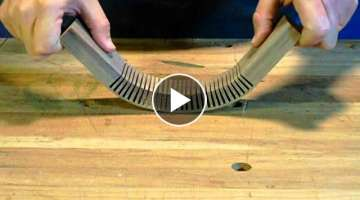 Kerf Bending Wood