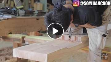 Amazing Techniques Smart Japanese Carpenters #Woodworking