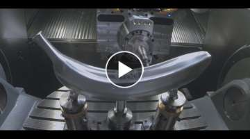 Fastest CNC 5 axis lathe Machines in action