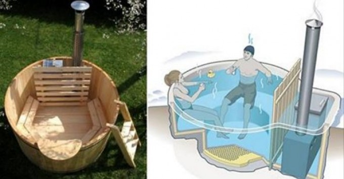 How To Build Your Own Wood Fired Hot Tub