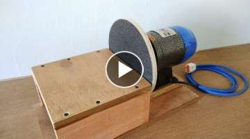 Make A Disc Sander || Homemade 8
