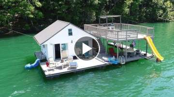 480sqft Floating Cottage For Sale on Norris Lake TN - SOLD!