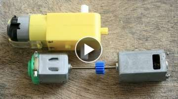7 Awesome ideas with DC motor