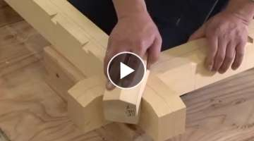 Amazing Techniques Japanese Woodworking - Architectural Carpenter's Skilled Skills Edition