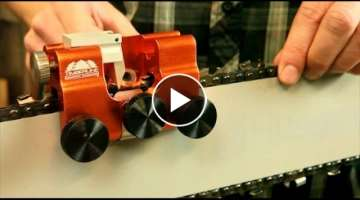 The Best Way to Sharpen a Chainsaw Ever!
