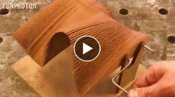 20 Amazing WoodWorking Processes Ideas Tools and Wood Products