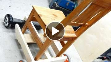 How to make a Hoverboard chair