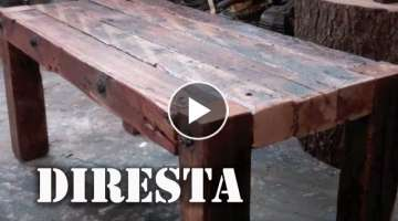 DiResta Reclaimed Wood Table
