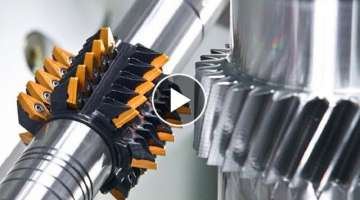 HYPNOTIC Video of Extreme CNC Machine in Action Manufacturing Complex Part: WFL MillTurn M120