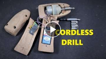 How to Make a Cordless Drill Tool | Screwdriver | DIY .