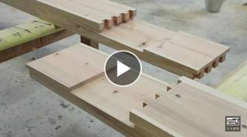 AWESOME WOODWORKING EXTREME EXCELLENT OF CARPENTERS JAPANESE // WOODWORKING