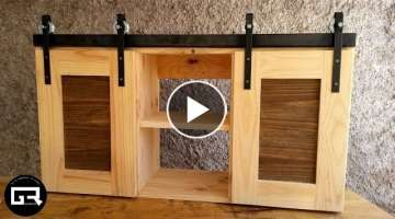 ALACENA DE PALETS / PALLET WOOD CABINET BUILD