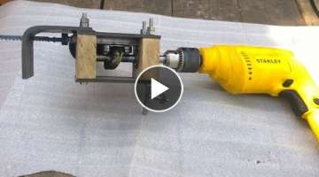 Wow AMAZING HOMEMADE TOOL FOR DRILL MACHINE