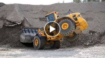 Volvo L250G Optishift | L60G | EW160D @ at a Show ´n Try Day