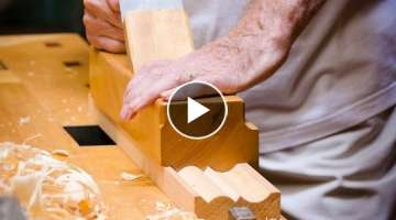 Frank Klausz using his Monster Molding Plane