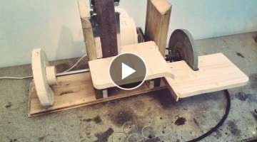 Homemade Sanding Station (4-in-1 rotary tool,grinder,belt/disc sander)
