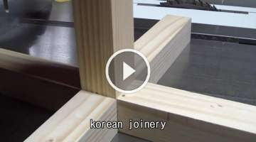 Korean joinery