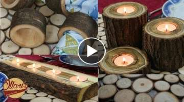 4 Easy Gift Ideas from Logs and Branches