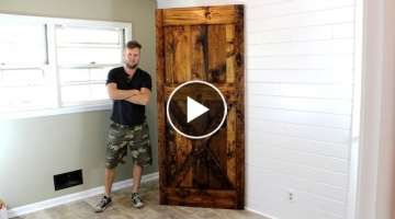 The $40 Barn Door - DIY Project