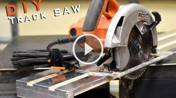 How To Build A Track Saw | Limited Tools Episode 001