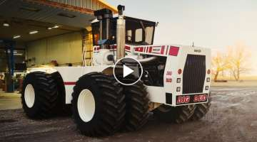 BIG BUD Tractor Restoration - 2019 Time-Lapse