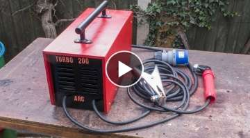 Homemade 200 Amp Arc Welder using Microwave Transformers