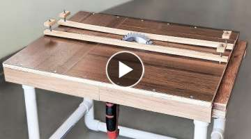 How to Make a Sliding Table Saw at Home
