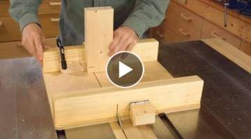 Small table saw sled