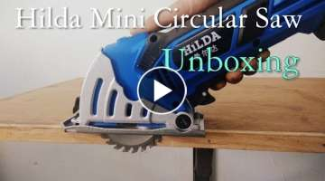 HILDA Mini Hand Circular Saw UNBOXING