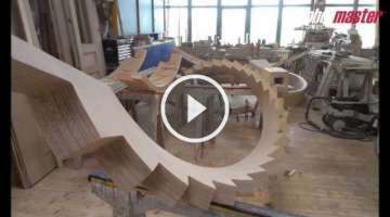 Milling of Circular Staircase Stringers