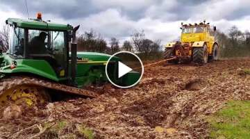 Tractors Stuck in Mud
