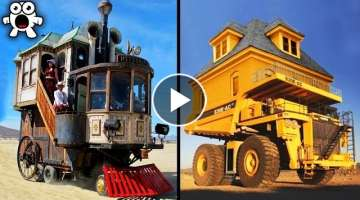 10 Amazing Motor Homes You Won't Believe Exist